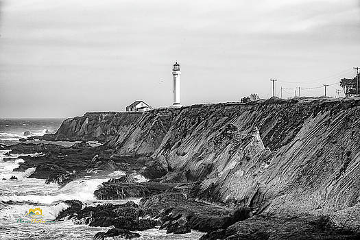Point Arena Lighthouse by Jim Thompson
