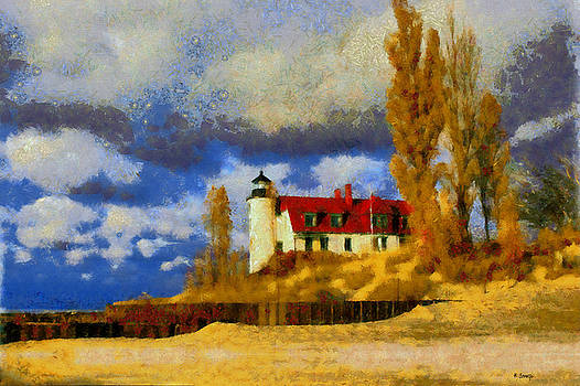 Point Betsie Lighthouse by Kai Saarto