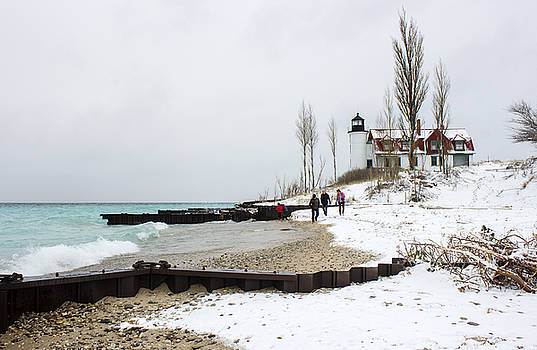 Point Betsie Lighthouse by Tammy Chesney