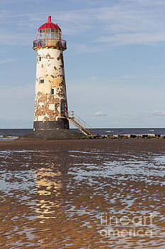 Point of Ayr Lighthouse by Kathryn Bell