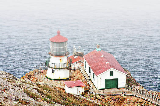 Christine Till - Point Reyes Lighthouse at Point Reyes National Seashore CA