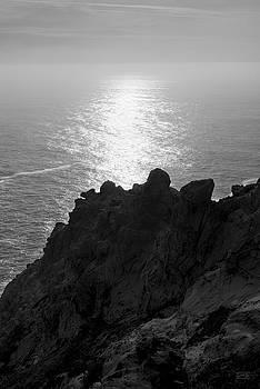 Point Reyes Seascape I BW by David Gordon