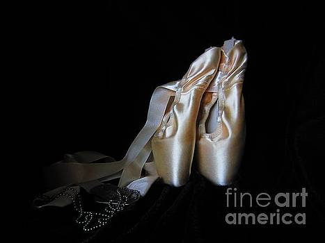 Point Shoes and Dog Tags by Laurianna Taylor