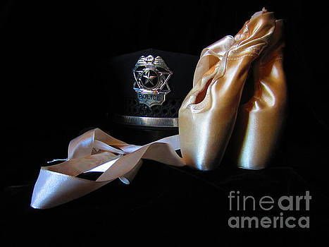 Pointe Shoes and Police by Laurianna Taylor