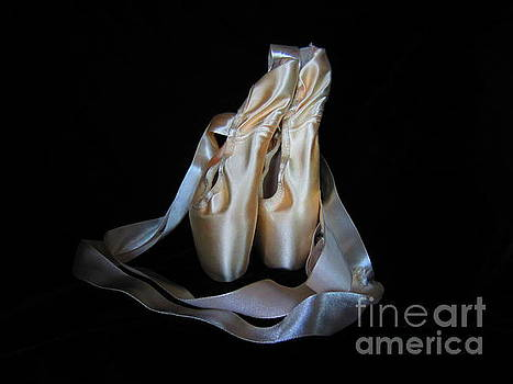 Pointe Shoes1 by Laurianna Taylor