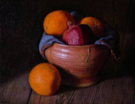 Pomegranate and Oranges by Keith Murray