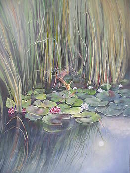 Pond at Noon by Eve Corin