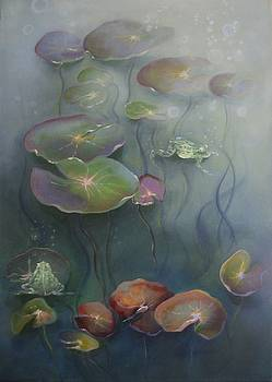 Pond Colors by Eve Corin
