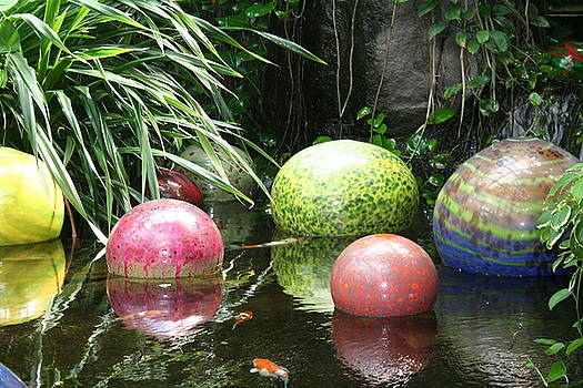 Pond Garden Balls by Shelly Davis