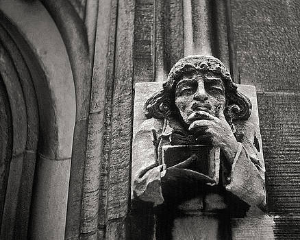 Pondering Gargoyle v.1 University of Chicago 1976 by Joseph Duba