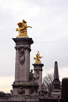 Pont Alexandre Bridge Detail by Tim Stringer