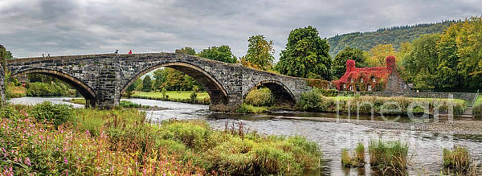 Adrian Evans - Pont Fawr Bridge Llanrwst