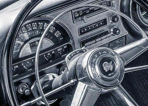 Pontiac Chieftain dash and steering wheel by Jim Hughes