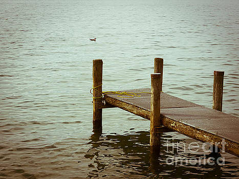 BERNARD JAUBERT - Pontoon on lake Geneva.