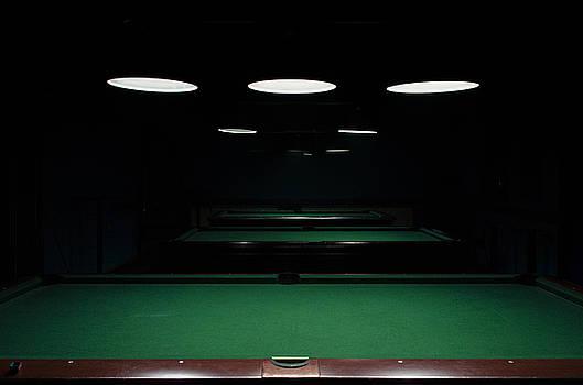 Pool Night by Srdjan Fesovic