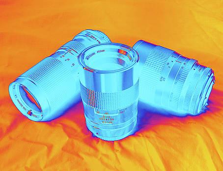 Pop Art Camera Lenses by Phil Perkins