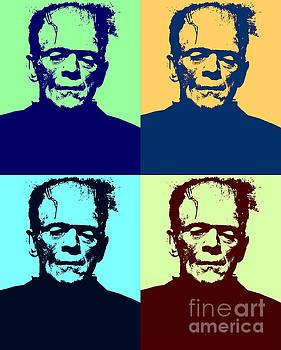 Pop Art Frankenstein by Pd