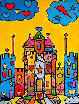 PopART Castle by Nico Bielow by Nico Bielow