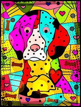PopART Dog by Nico Bielow by Nico Bielow