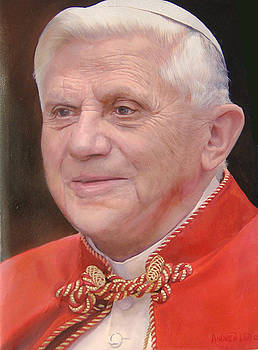 Pope Benedetto XVI by Michael Andrew Law