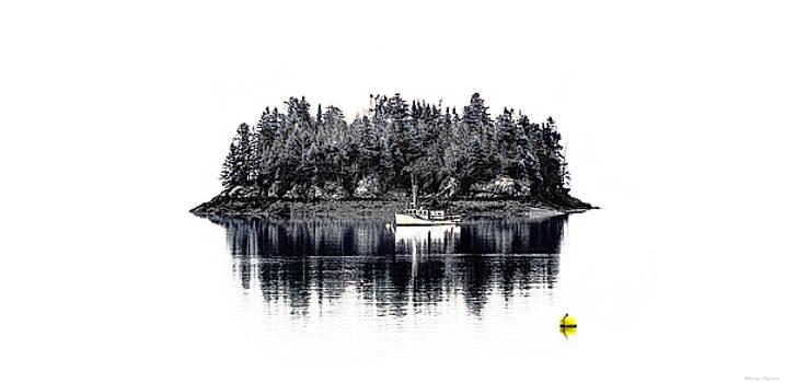 Popes Folly Island by Marty Saccone