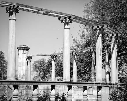 Kathleen K Parker - Popp Fountain Columns - NOLA