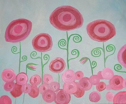 Poppies I by Andrea Harston