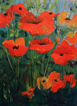 Poppies II by Robin Zuege