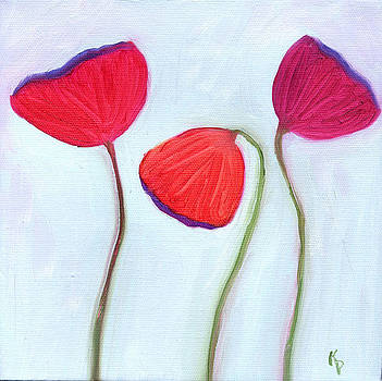 Poppies by Kelly  Parker