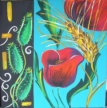 Poppies by Marilena  Pilla