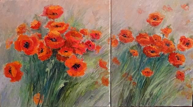 Poppies by Natalia Bardi