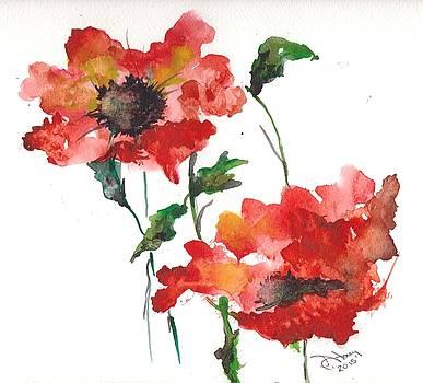 Poppies by Sandi Stonebraker