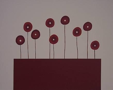 Poppies by Sandy Bostelman