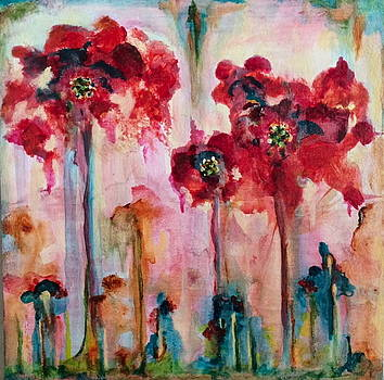 Poppies Too by Natalie Singer