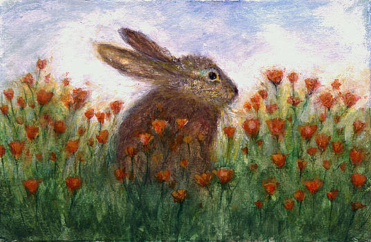 Poppy Bunny by Maureen Ida Farley