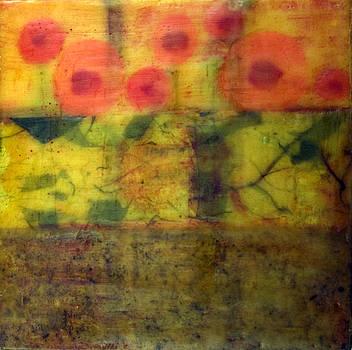 Poppy Collage 2 by Dora Ficher