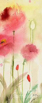 Poppy Field #3 by Sheila Golden