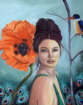 Leah Saulnier The Painting Maniac - Poppy