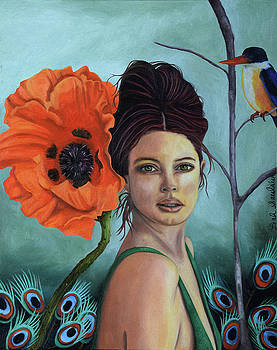 Leah Saulnier The Painting Maniac - Poppy updated photo