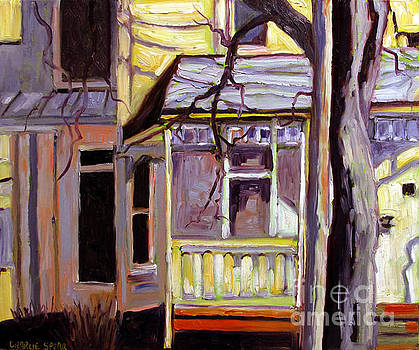 Porch Alight with the Sun by Charlie Spear