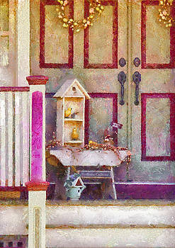 Mike Savad - Porch - Cranford NJ - The birdhouse collector
