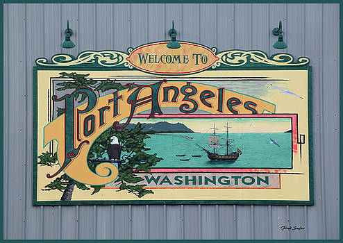 Port Angeles Washington Gateway To Vancouver Island by Floyd Snyder