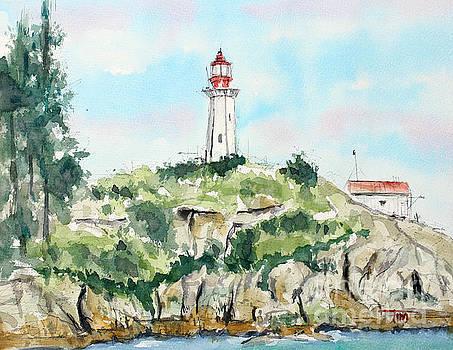 Port Atkinson Lighthouse  by Tim Ross