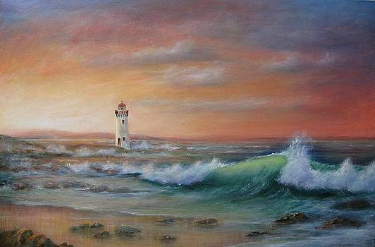 Port Fairy Lighthouse by Rita Palm