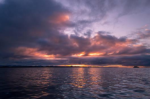 Port Hardy Sunrise by Michael J Bauer