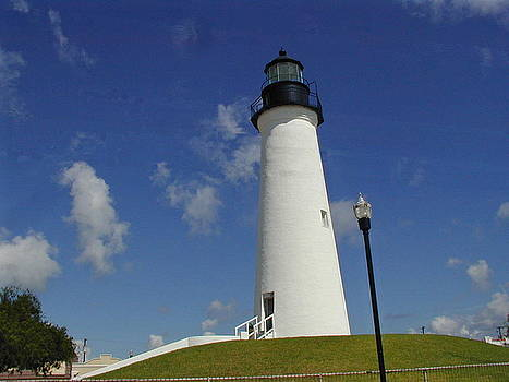 Port Isabel Lighthouse by Cathy P Jones
