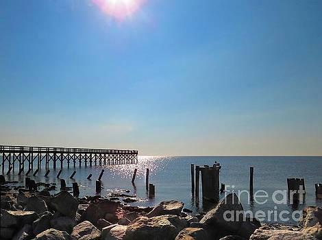Port Mahon Pier by Rrrose Pix