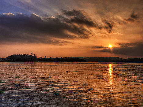 Portaferry Sunset by Kim Shatwell-Irishphotographer