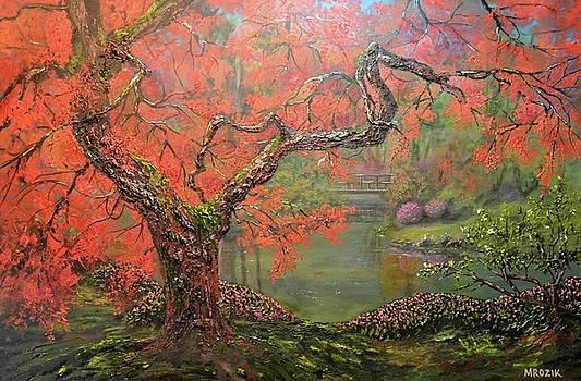 Portland Garden  by Michael Mrozik