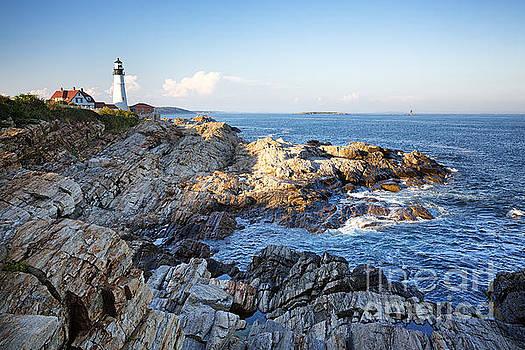 Portland Head Lighthouse by Jane Rix